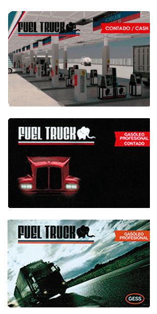 Tarjetas Fuel Truck