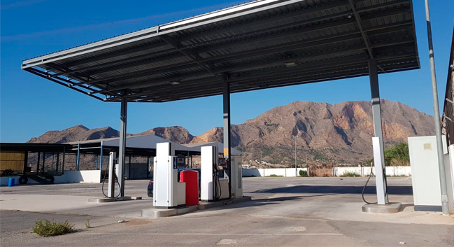 Fuel truck Orihuela